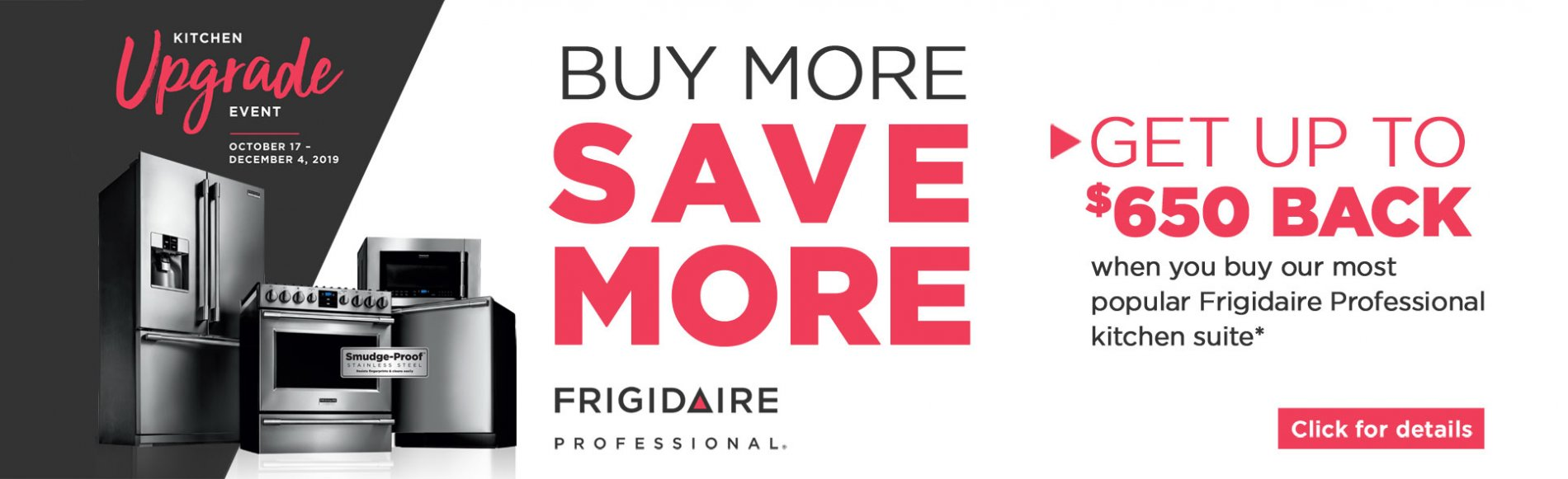 Frigidaire Pro Buy More Save More